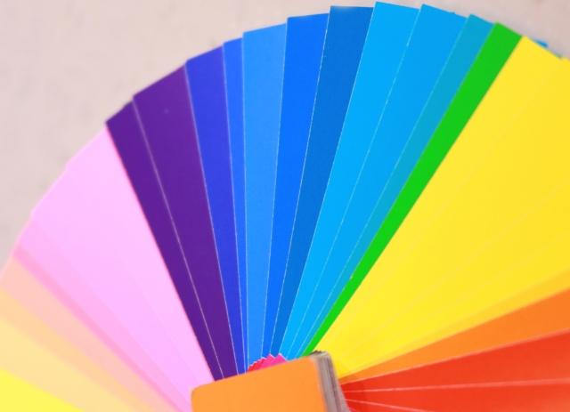 色見本の写真